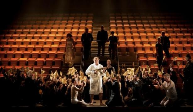 ENO cast and sports stadium set for Caligula opera by Glanert