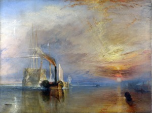 JMW Turner's The Fighting Temeraire.