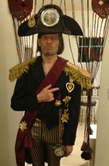 Admiral's Costume for QVII Opera
