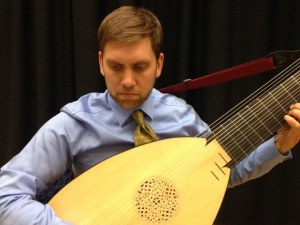 Peter Schimpf on oud, lute, theorbo, psaltery