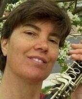 Meg York on clarinet